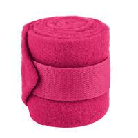 Fleece bandáže Mini Shetty růžové