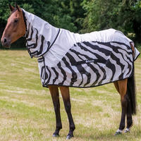 Deka Bucas Buzz-Off Zebra Rain Full Neck
