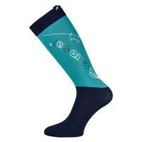Ponožky Euro-star Technical Design M (35-38) smaragdové