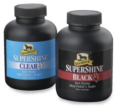 Absorbine Supershine lesk na kopyta 236ml černý