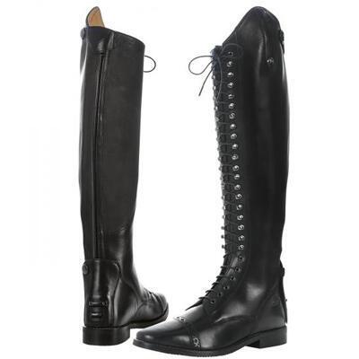Vysoké jezdecké boty Busse Laval černé - 1