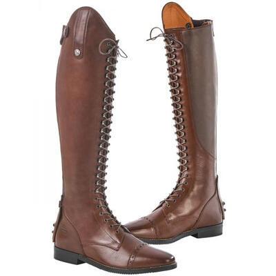Vysoké jezdecké boty Busse Laval hnědé