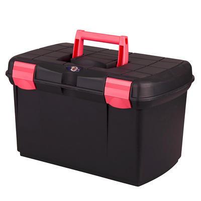Box na čištění Carlo černo/růžový