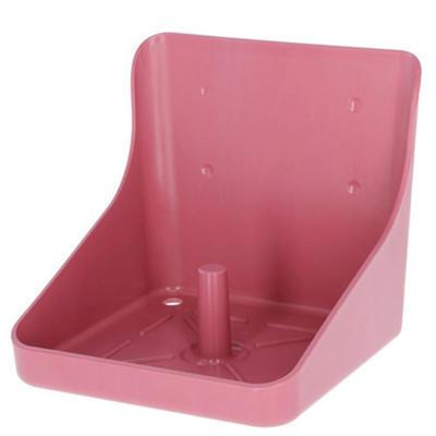 Držák na sůl plastový růžový