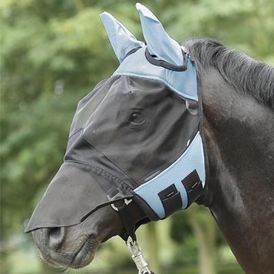 Maska proti mouchám Busse Fly Cover Pro XFull světle modrá