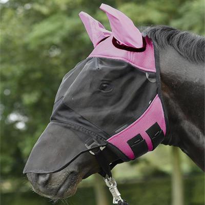 Maska proti mouchám Busse Fly Cover Pro Full růžová