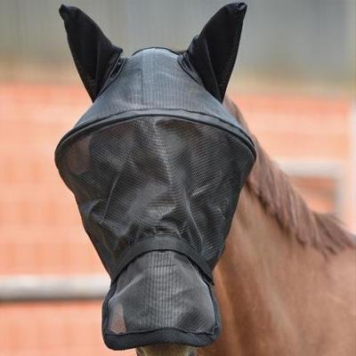 Maska proti mouchám Busse Fly Professional Pony černá