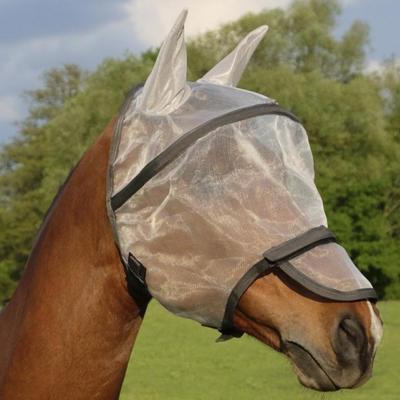 Maska proti mouchám Equi-Theme Protec Full bílá