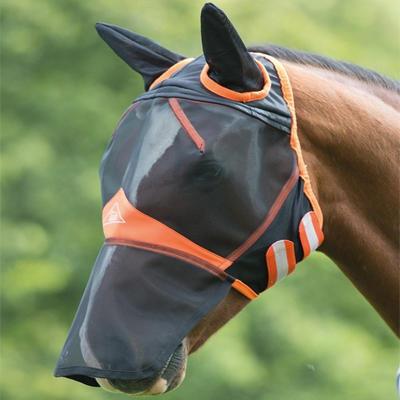 Maska proti mouchám Shires Fine Mesh Pony černá
