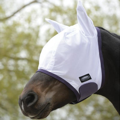 Maska proti mouchám Weatherbeeta Mesh Pony bílá