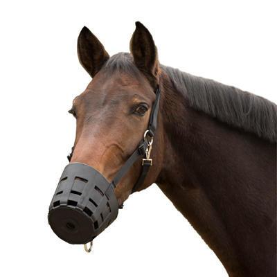Náhubek pro koně Waldhausen Easy Clean Full černý