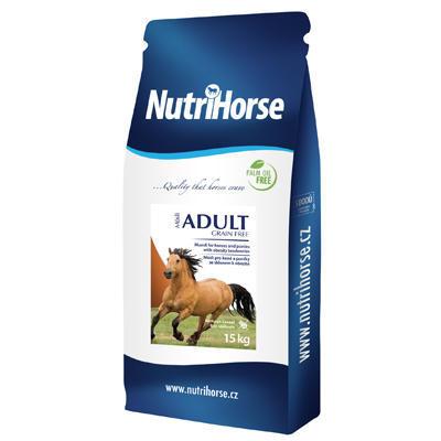 NutriHorse Adult Grain Free müsli 15kg - 1