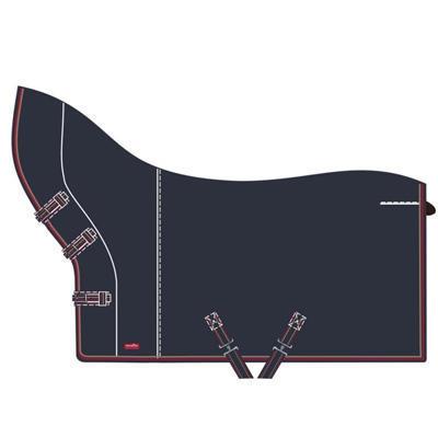 Odpocovací deka Premiere s krkem 135cm tmavě modrá