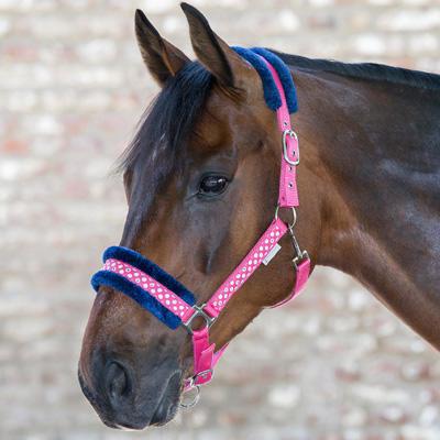 Ohlávka Waldhausen Unicorn Glitter Pony růžová