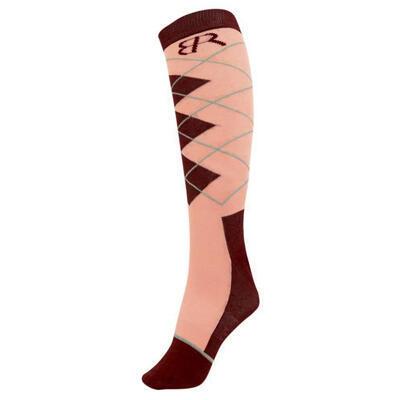 Ponožky BR Rox 35-38 meruňkové