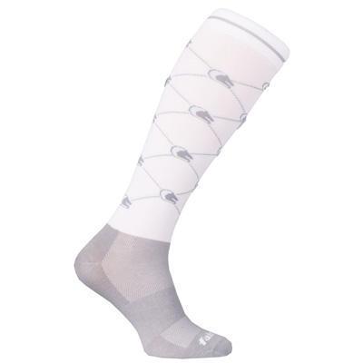 Ponožky FairPlay Logo 36-41 bílé