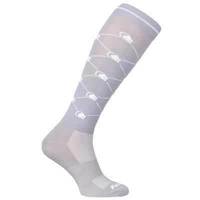 Ponožky FairPlay Logo 36-41 šedé