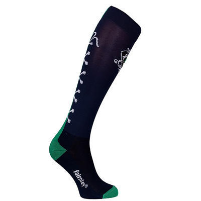 Ponožky FairPlay Tkaničky 36-41 zelené