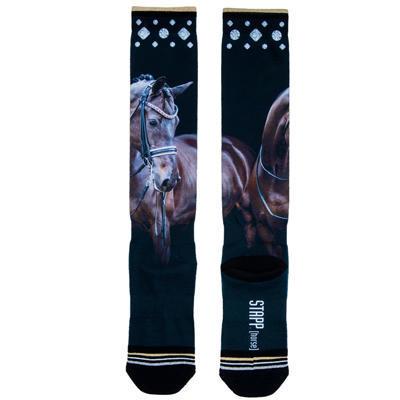 Ponožky STAPP Horse Print 35-38 Drezurní kůň