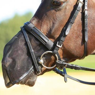 Síťka na nos Waldhausen Cob černá