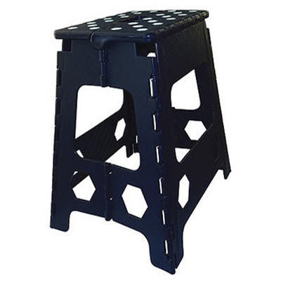Stolička Hippo-Tonic skládací modrá