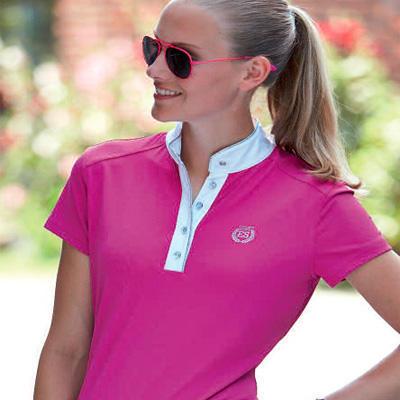 Dámské závodní tričko Euro-star Hannah M růžové