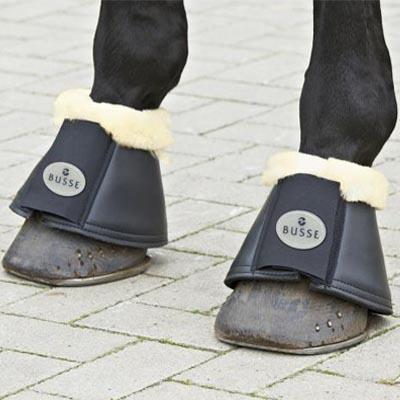 Zvony Busse Comfort-Fell beránek XL černé