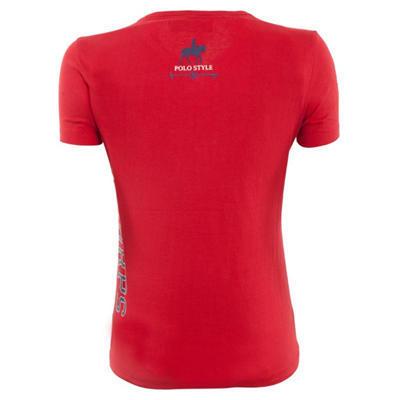 Dámské tričko BR Doce M červené  - 2