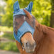 Maska proti mouchám Waldhausen Premium Cob pudrově modrá